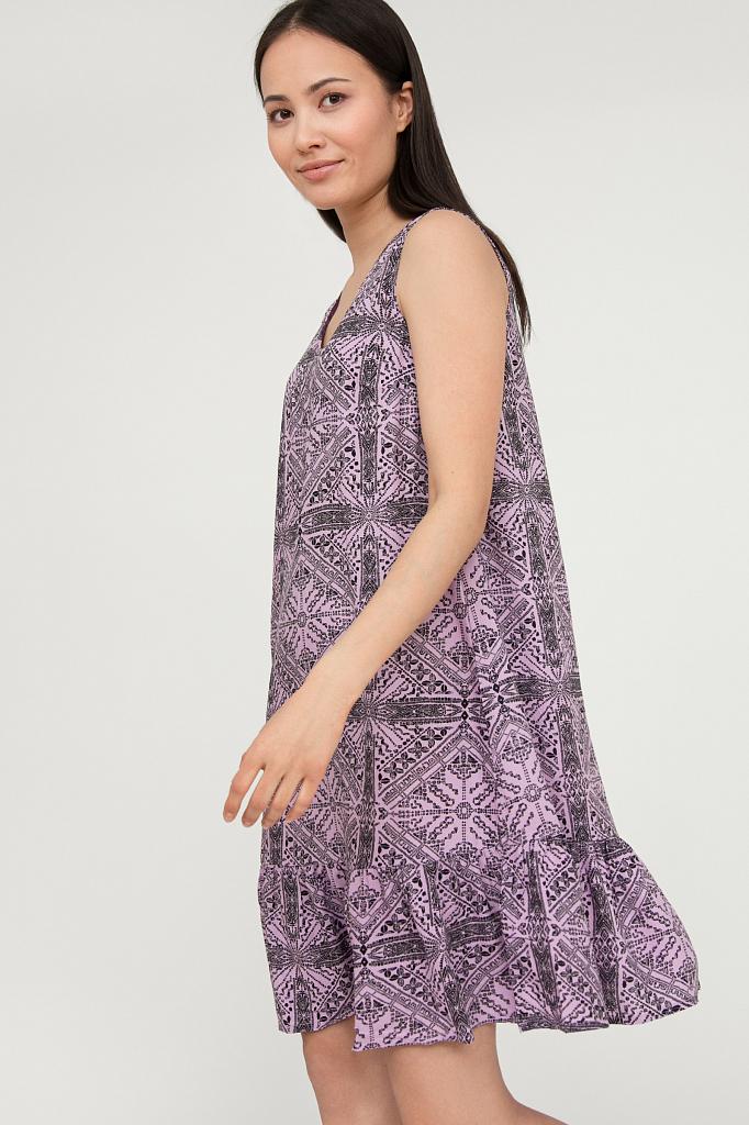 платье женское Finn-Flare цвет violet (сиреневый)