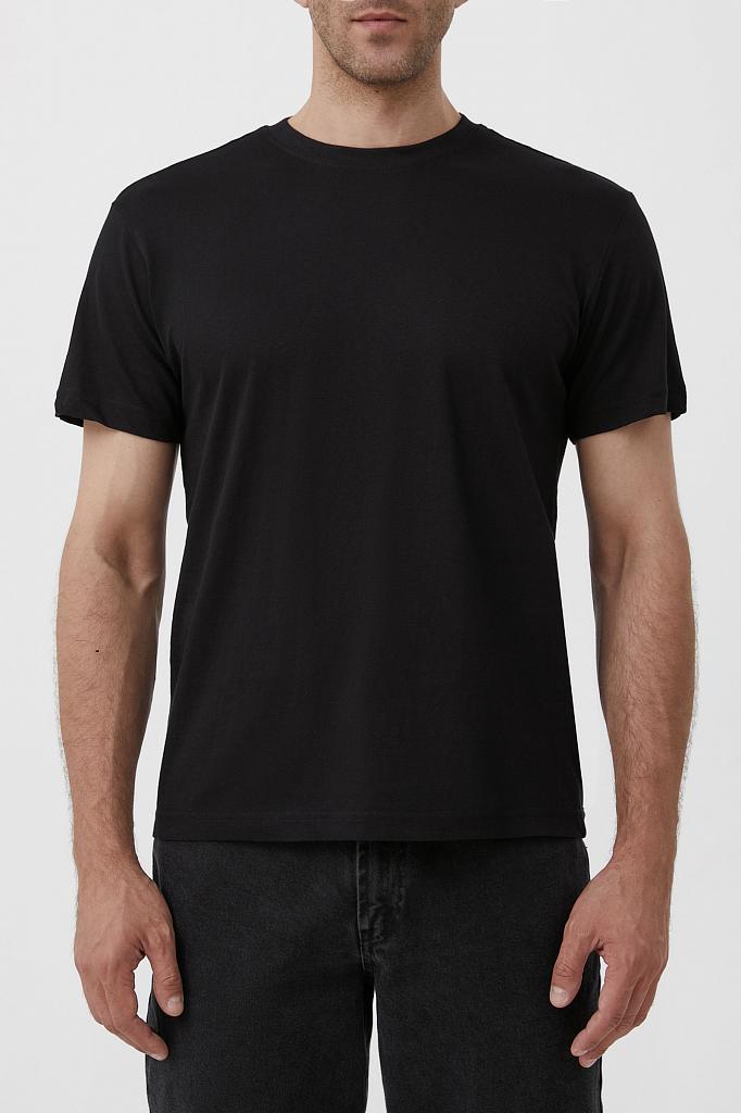 футболка мужская Finn-Flare черного цвета