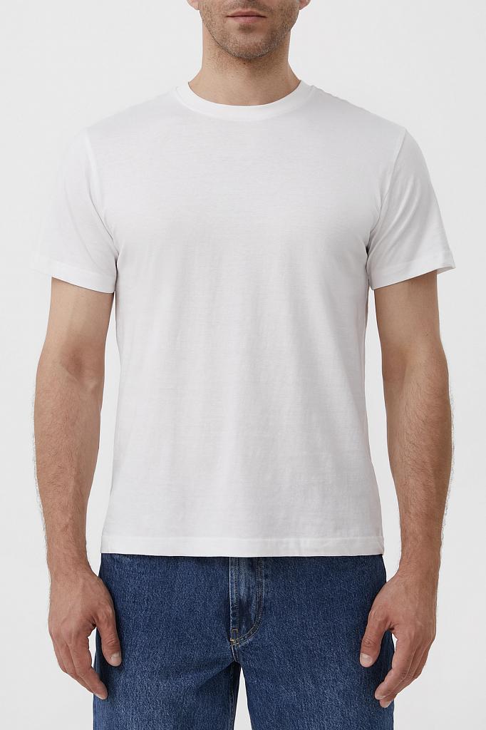футболка мужская Finn-Flare белого цвета