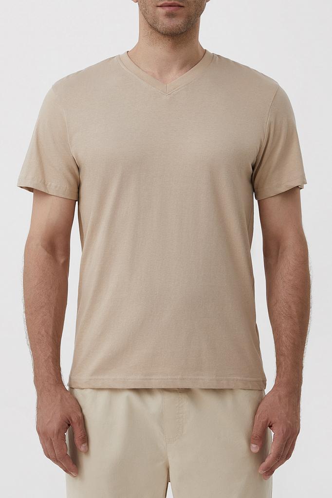 футболка мужская Finn-Flare цвет корица