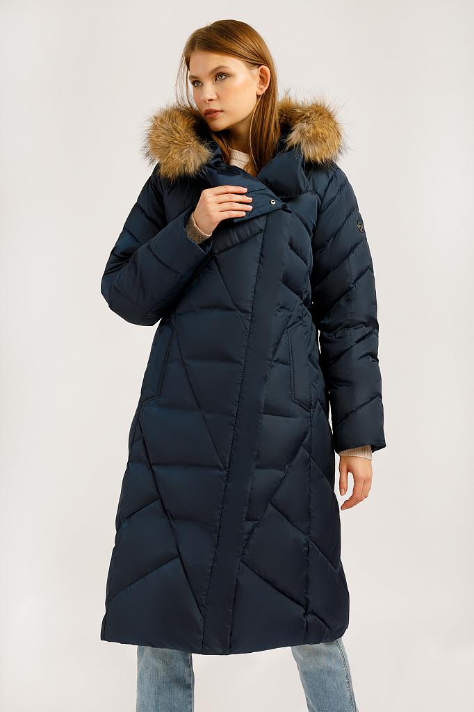 Зимний пуховик женский фото