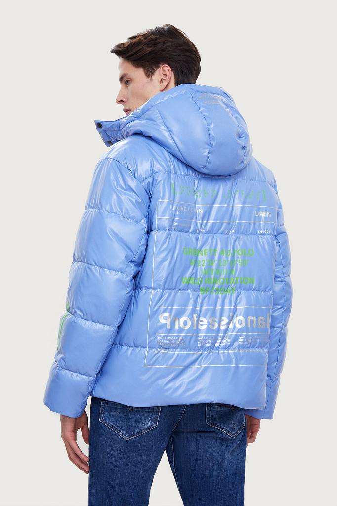 куртка мужская Finn-Flare синего цвета