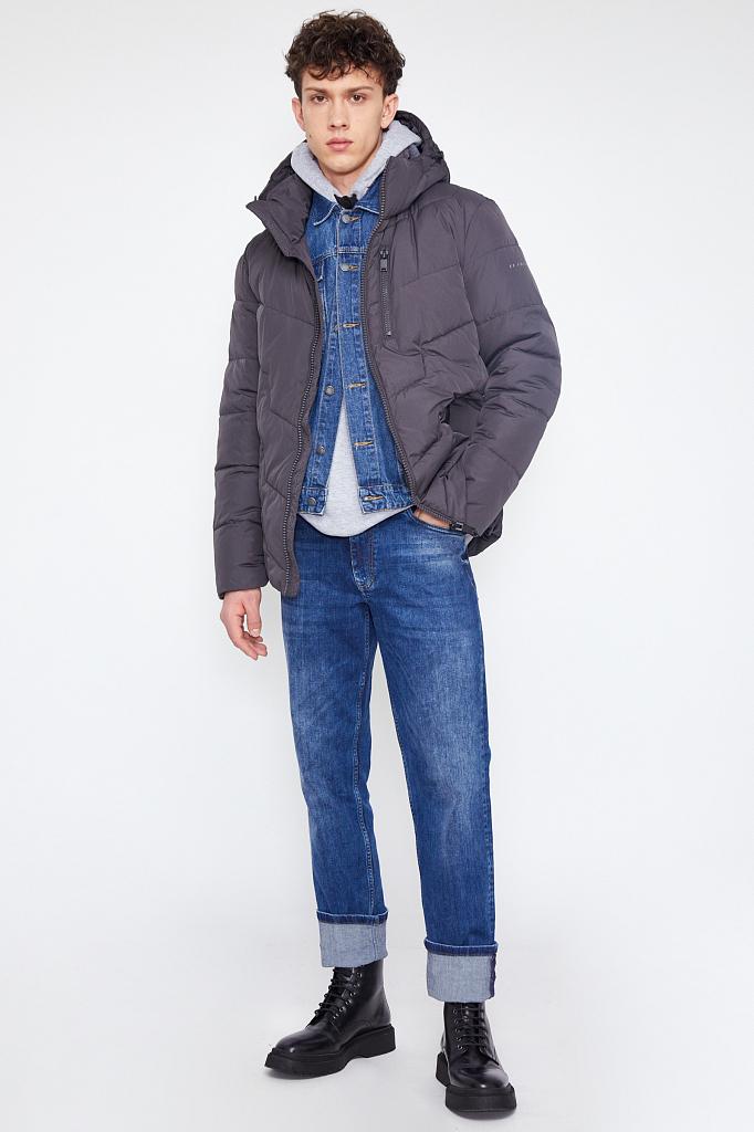куртка мужская Finn-Flare темно-серого цвета