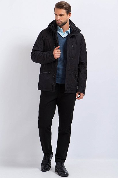 Пуховик мужской, Модель A17-21039, Фото №3