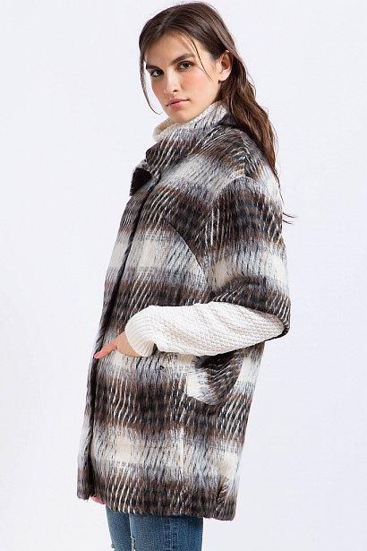 Полупальто женское, Модель A17-12017, Фото №4