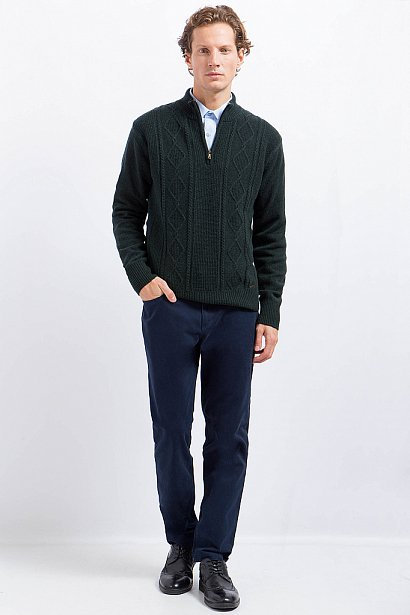 Джемпер мужской, Модель A17-21104, Фото №3