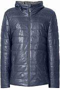 Кожаная куртка мужская, Модель A18-21801, Фото №6