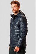 Кожаная куртка мужская, Модель A18-21801, Фото №3