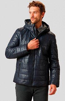 Кожаная куртка мужская A18-21801