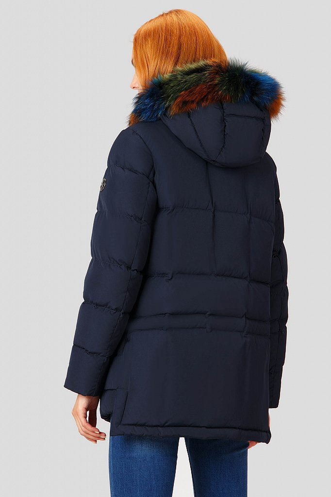 Пуховик женский, Модель A18-12065, Фото №4