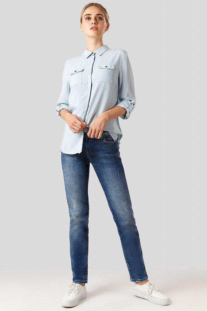Джинсы женские, Модель A18-15001, Фото №2