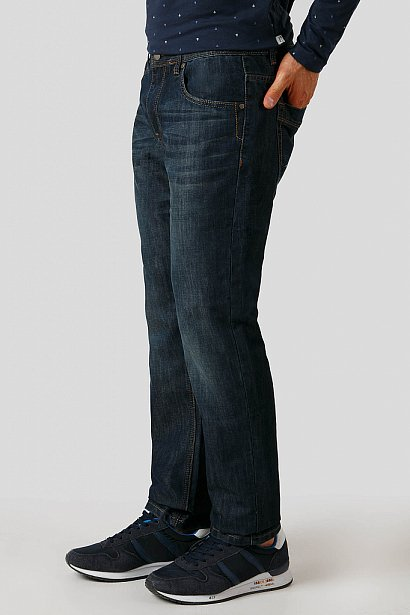 Джинсы мужские, Модель A18-25007, Фото №3