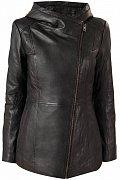 Кожаная куртка женская, Модель A18-11801, Фото №6