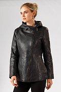 Кожаная куртка женская, Модель A18-11801, Фото №3