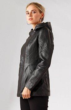 Кожаная куртка женская A18-11801