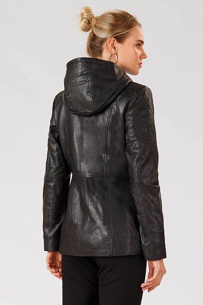 Кожаная куртка женская, Модель A18-11801, Фото №4