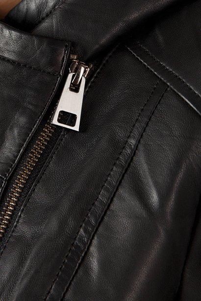Кожаная куртка женская, Модель A18-11801, Фото №5