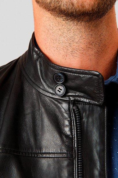 Кожаная куртка мужская, Модель A18-21800, Фото №7
