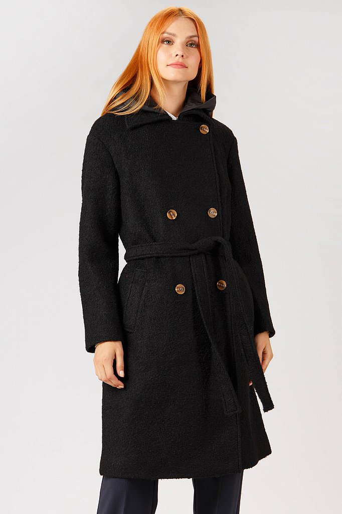 Пальто женское, Модель A18-11076, Фото №3