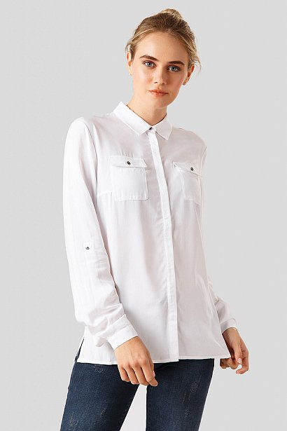 Блузка женская, Модель A18-11041, Фото №1