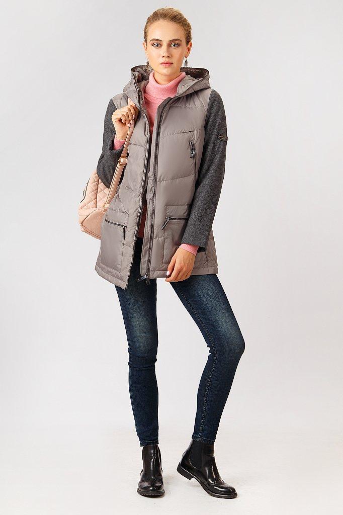 Куртка женская, Модель A18-32065, Фото №2