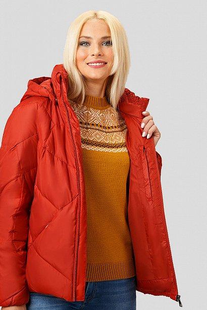 Пуховик женский, Модель A18-32024, Фото №5