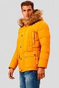Пальто мужское, Модель A18-42004, Фото №3