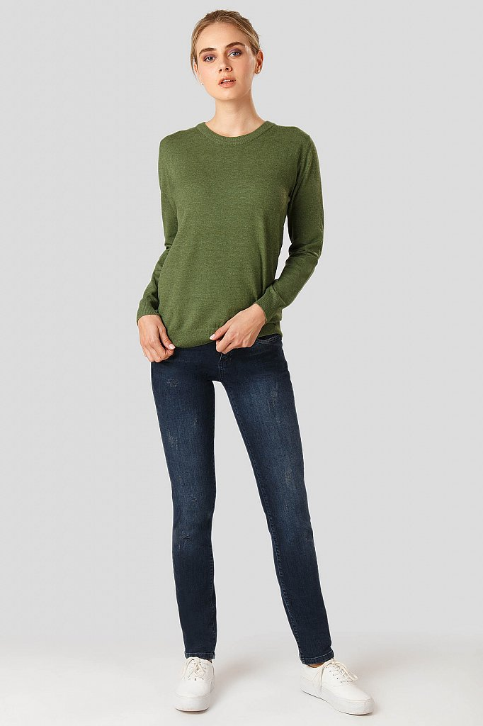 Джемпер женский, Модель A18-11100, Фото №2