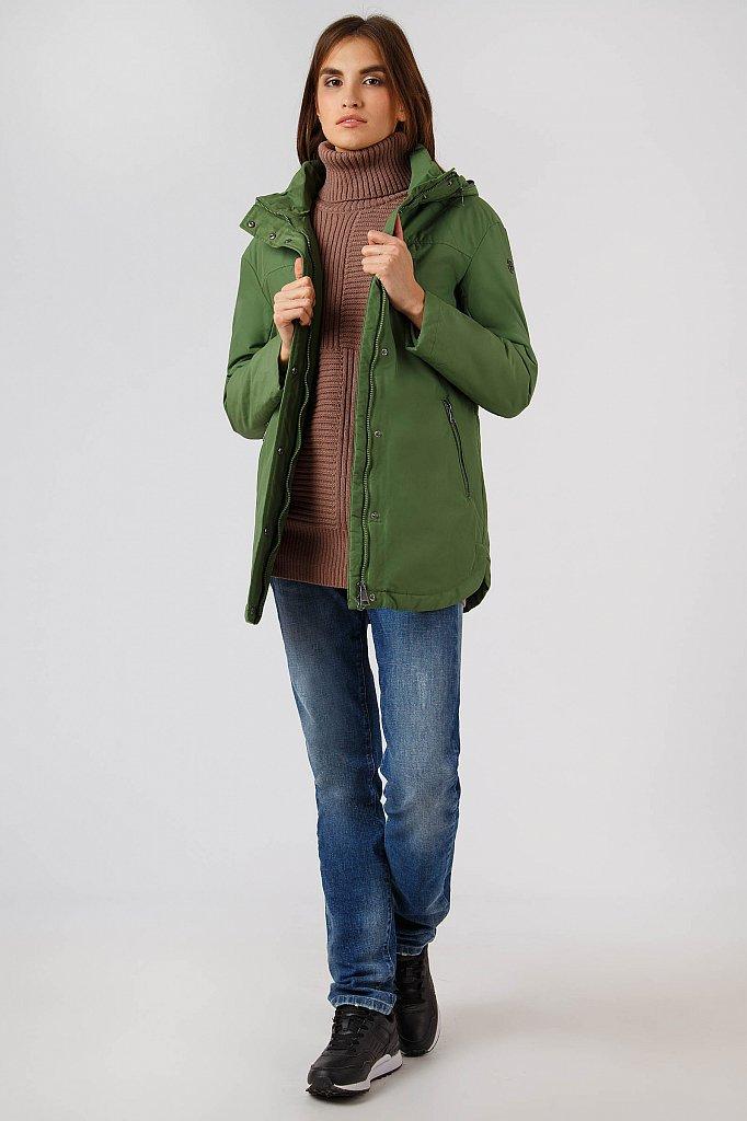 Куртка женская, Модель A18-12067, Фото №2