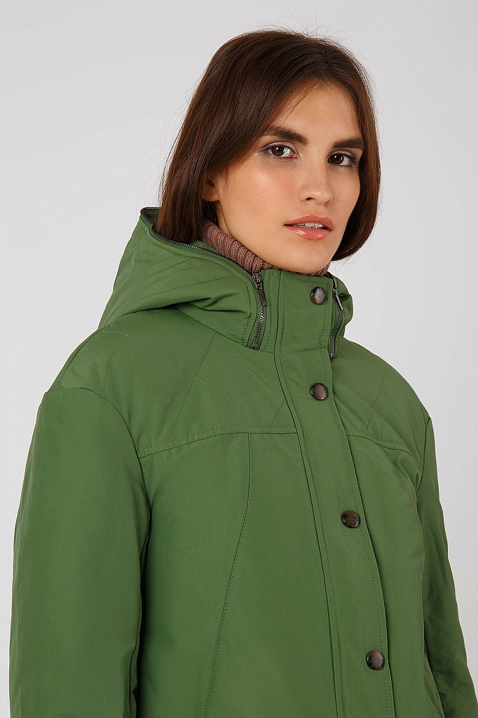Куртка женская, Модель A18-12067, Фото №4