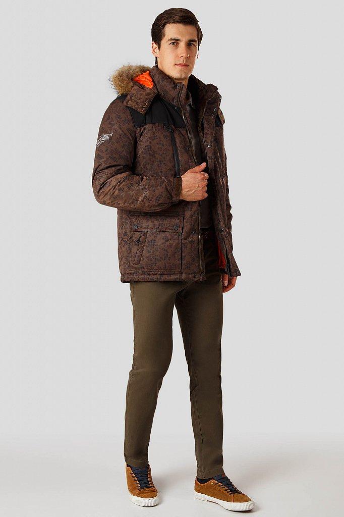 Пуховик мужской, Модель A18-42000, Фото №2