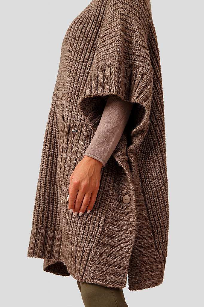 Жилет женский, Модель A18-12110, Фото №5