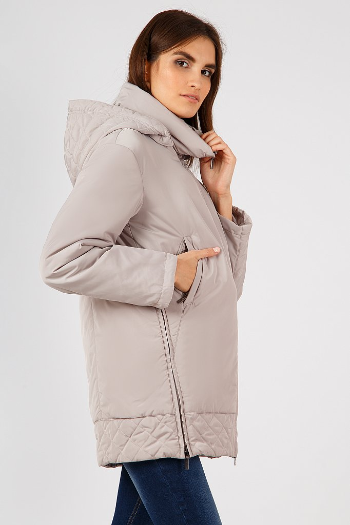 Куртка женская, Модель A18-12064, Фото №3