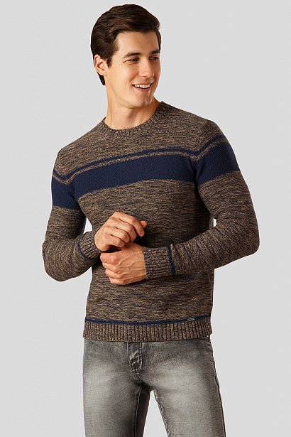 Джемпер мужской, Модель A18-22102, Фото №1