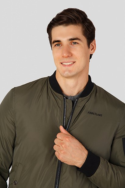 Куртка мужская, Модель A18-42002, Фото №5