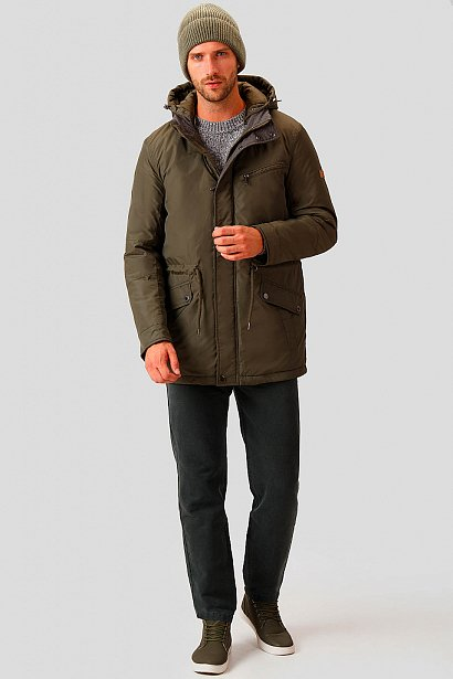 Полупальто мужское, Модель A18-42003, Фото №2