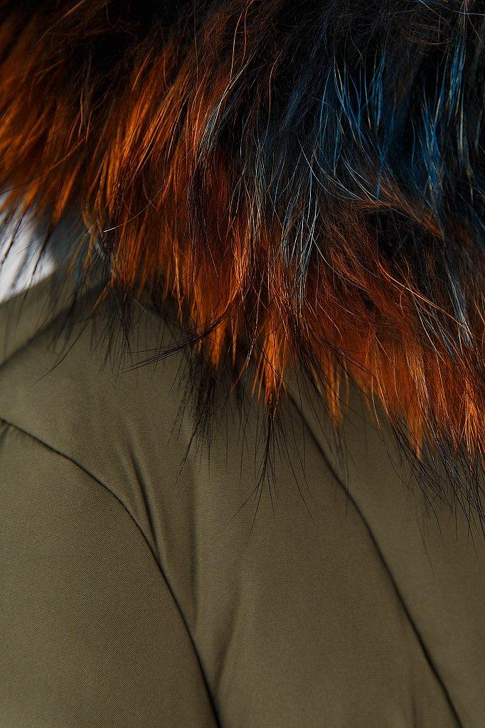 Пуховик женский, Модель A18-12065, Фото №6