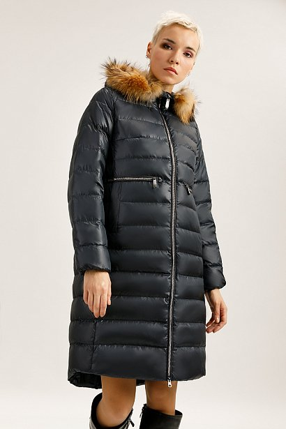 Пальто женское, Модель A19-11022, Фото №1