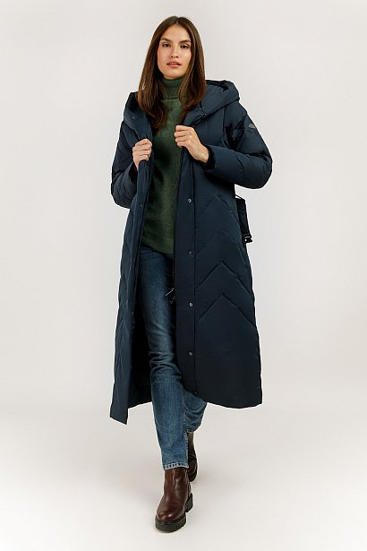Пальто женское, Модель A19-12008, Фото №2