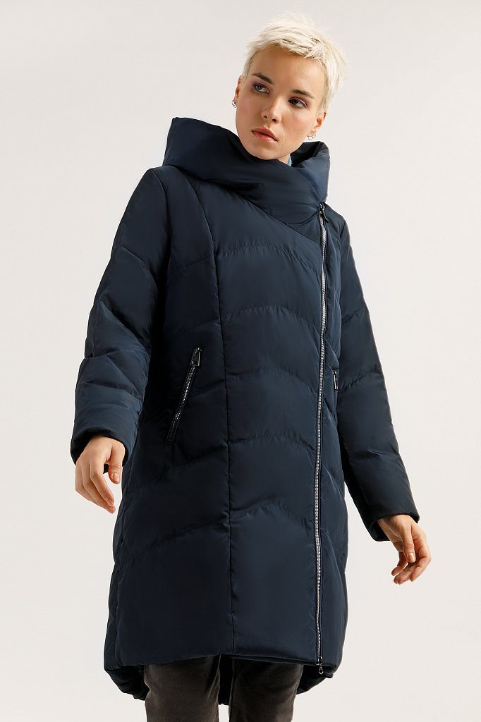 Пальто женское, Модель A19-11010, Фото №1