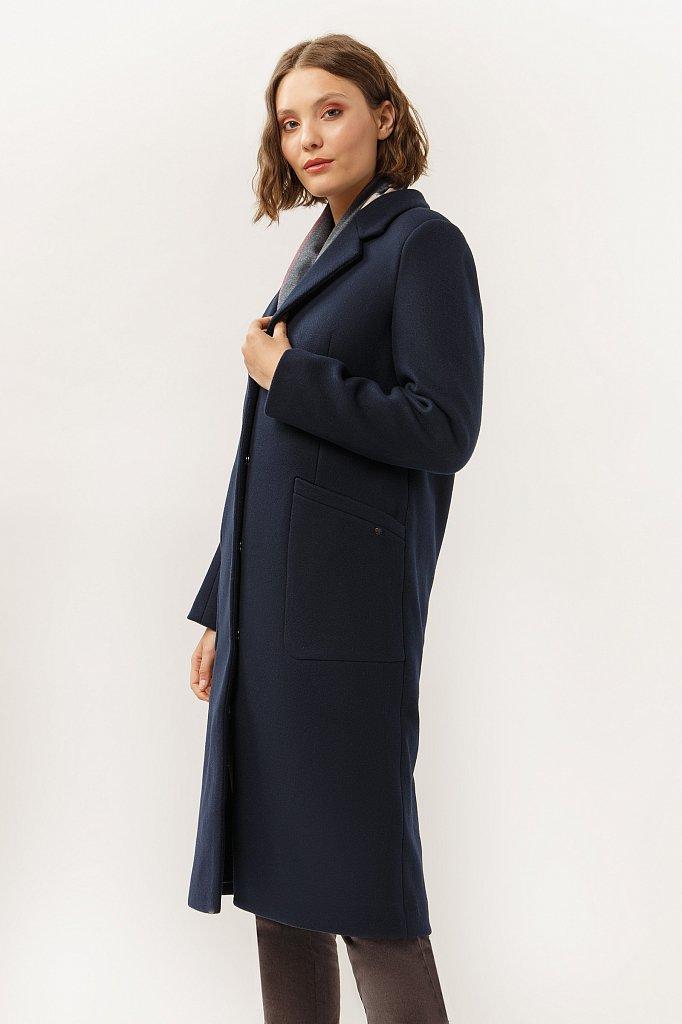 Пальто женское, Модель A19-12025, Фото №3