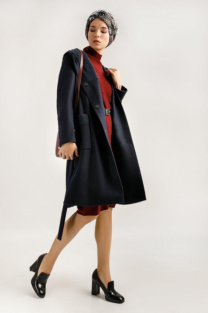 Пальто женское, Модель A19-12036, Фото №1