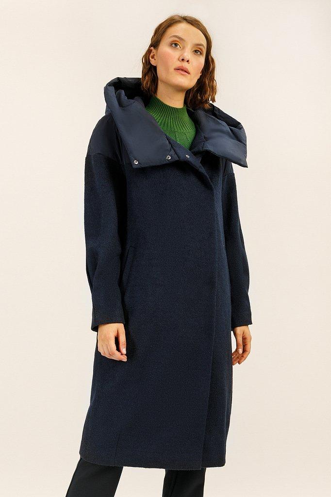 Пальто женское, Модель A19-12045, Фото №1