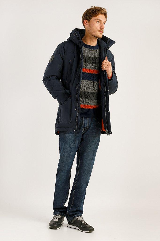 Пальто мужское, Модель A19-22007F, Фото №2