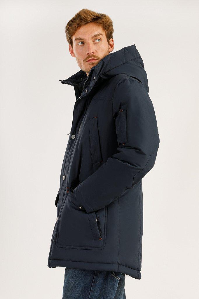 Пальто мужское, Модель A19-22007F, Фото №3