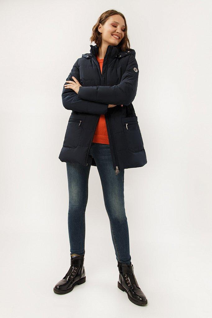 Полупальто женское, Модель A19-32016, Фото №2