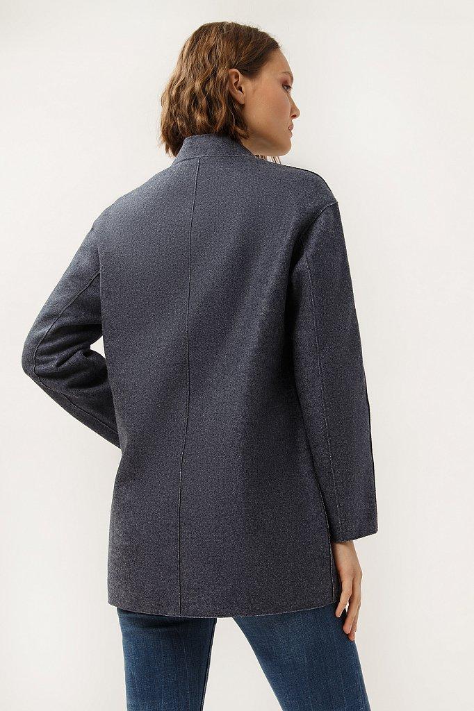 Пальто женское, Модель A19-12041, Фото №4