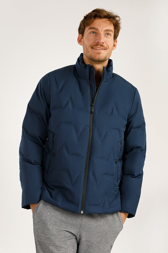Куртка мужская, Модель A19-42028, Фото №2