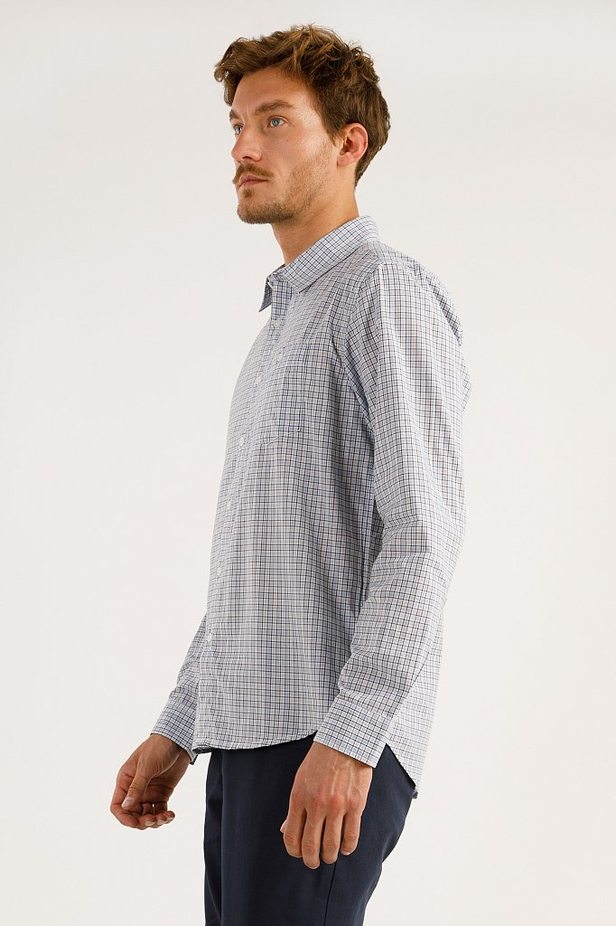 Рубашка мужская, Модель A19-21025, Фото №2
