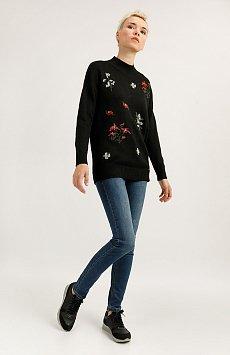 Брюки женские (джинсы), Модель A19-15005, Фото №1